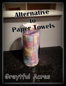 cloth paper towels