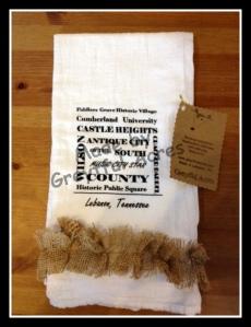 Lebanon Souvenir Towel